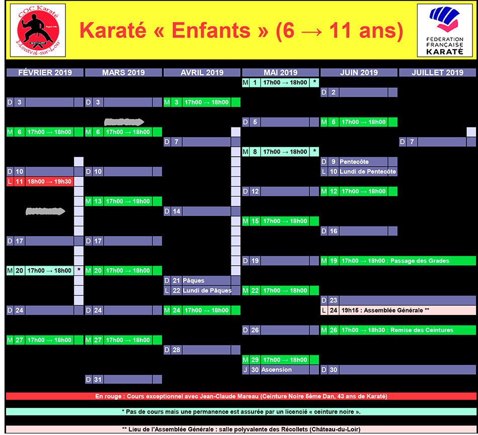 Karaté Enfant Château-du-Loir : Cours Karaté Enfant